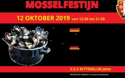 Mosselfestijn Ritterklub Jette